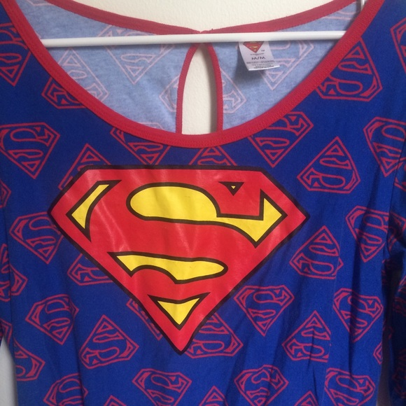 36b036f0ce DC Comics Other - Superman pajama romper